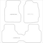 Honda CRV Manual Only Car Mats
